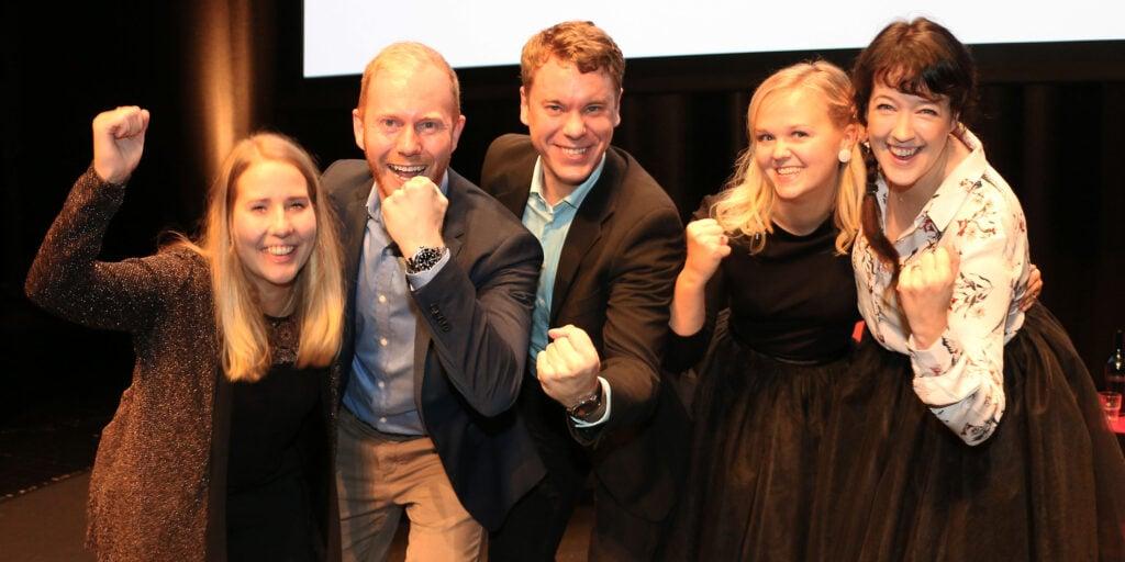 Nominerade företag till Årets Unga Företagare 2018