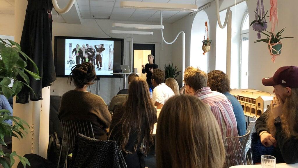 Anna Parry inspirationsföreläser för eXpress-programmet