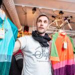 Fredrik Petrusson, Designchef Sigr visar senaste kollektionen